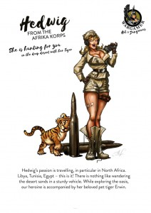 Hot & Dangerous: Hedwig from the Africa Corps (54mm)
