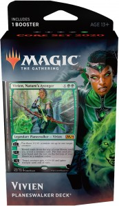 Mtg: Core Set 2020 Planeswalker Deck - Vivien, Nature's Angel