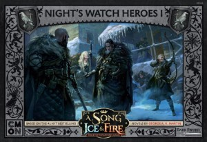 A Song of Ice & Fire: Night's Watch Heroes 1