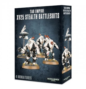 Tau Empire XV25 Stealth Team