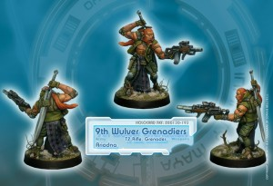 Ariadna - 9th Wulver Grenadiers (T2 Rifle)