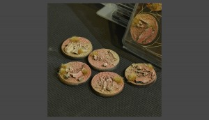Badlands Bases, Round 40mm (x5)