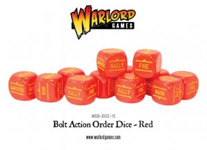 Orders Dice - Red