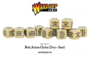 Orders Dice - Sand