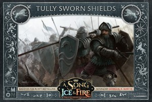 Song of Ice & Fire: Tully Sworn Shields