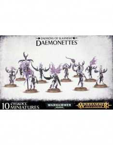 Daemons of Chaos Daemonettes of Slaanesh