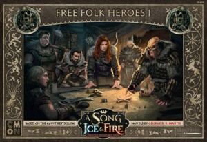 A Song of Ice & Fire: Free Folk Heroes 1