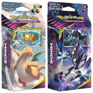 Pokemon: Unified Minds - Zestaw dwóch talii Dragonite & Necrozma