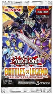 Yu-Gi-Oh!: Battles of Legends - Relentless Revenge booster