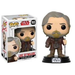 Funko-POP!: Star Wars  E8 - Luke Skywalker (Bobble Head)