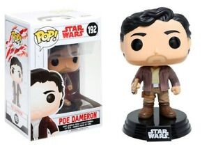 Funko-POP!: Star Wars E8 - Poe Dameron (Bobble Head)