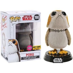 Funko-POP!: Star Wars E8 - Porg Flocked (Special Edition)
