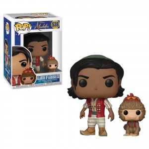 Funko-POP! Aladdin - Aladdin with Abu