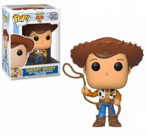 Funko-POP! Toy Story 4- Woody