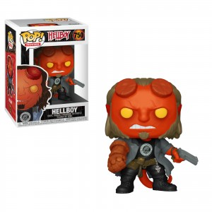 Funko-POP!: HellBoy - HellBoy with BPRD Tee