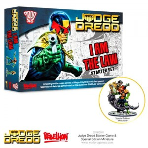 Judge Dredd: Judge Dredd  starter game
