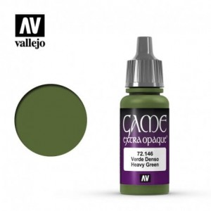 Vallejo Game Color Extra Opaque - Heavy Green 72.146 17ml.