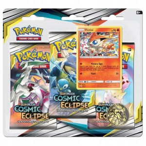 Pokemon TCG: Sun & Moon Cosmic Eclipse Blister - Victini