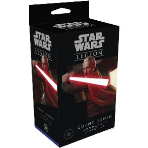 Star Wars: Legion – Count Dooku Commander