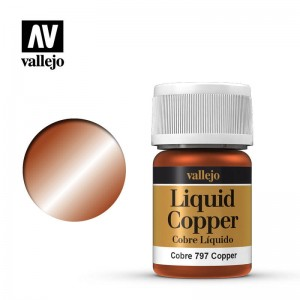 Vallejo Liquid Gold - Copper 70.797 35ml.