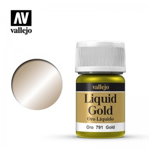 Vallejo Liquid Gold - Gold 70.791 35ml.