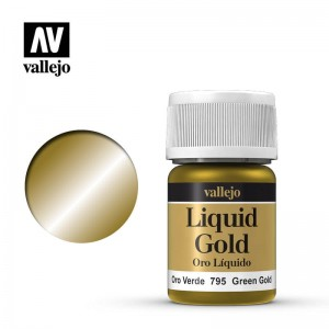 Vallejo Liquid Gold - Green Gold 70.795 35ml.