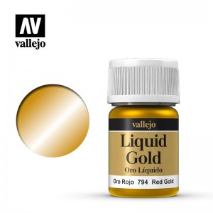Vallejo Liquid Gold - Red Gold 70.794 35ml.