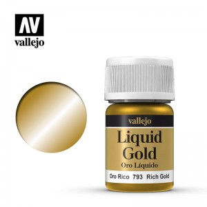 Vallejo Liquid Gold - Rich Gold 70.793 35ml.