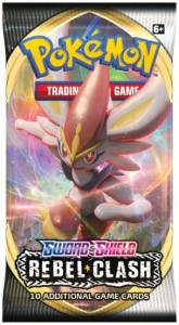 Pokemon TCG: Rebel Clash - booster