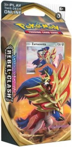 Pokemon TCG: Sword & Shield Rebel Clash - Zamazenta Talia