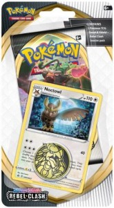 Pokemon TCG: Sword & Shield Rebel Clash Checkline blister - Noctowl