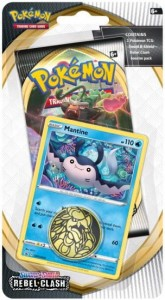 Pokemon TCG: Sword & Shield Rebel Clash Checkline blister - Mantine