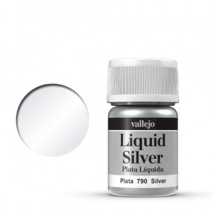 Vallejo Liquid Gold - Silver 70.790 35ml.