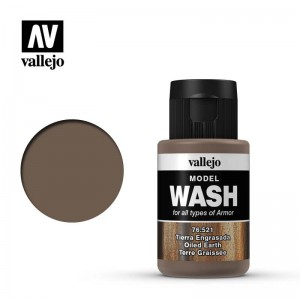 Vallejo Model Color - Oiled Earth Wash 76.521 35ml.