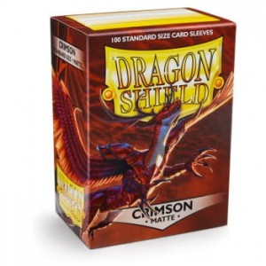 Dragon Shield Matte Crimson (100 szt.)