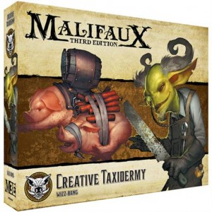 Malifaux: Creative Taxidermy
