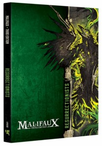 Malifaux: Resurrectionists Faction Book
