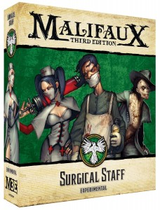 Malifaux: Surgical Staff