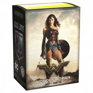 Dragon Shield Art: Justice League - Wonder Woman (100 szt.)