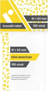Koszulki Rebel: Mini American 41x63mm
