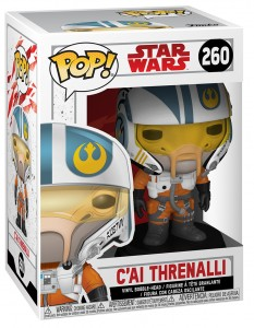 Funko-POP!: Star Wars E8 - C'ai Threnalli