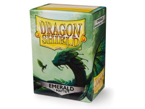 Dragon Shield Matte Emerald (100 szt.)