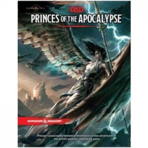 D&D 5.0: Elemental Evil - Princes of the Apocalypse Adventure EN