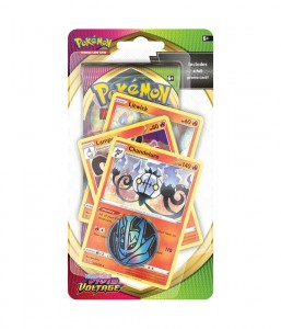 Pok: S&S Vivid Voltage Premium Checklane Blister - Chandelure