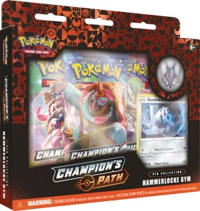 Pok: 3.5 Champion's Path - Pin Box November Hammerlocke Gym