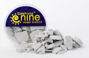 Hobby Round: Concrete Rubble Mix
