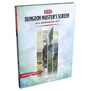 D&D 5.0: Dungeon Master's Screen - Wilderness Kit ENG