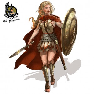 Hot & Dangerous: Alexandra of Macedon (54mm)