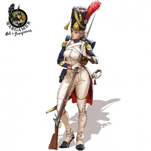 Hot & Dangerous: Celine, the Old Guard Grenadier (28 mm)