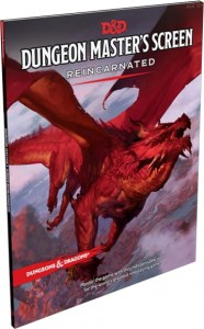 D&D 5.0: Dungeon Master's Screen - Reincarnated ENG